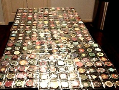 MEGA Set 131 PUERTO RICO CASINO New & Vintage POKER CHIP COLLECTION +Bonus Lot