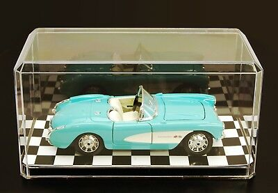 1:24 scale model car acrylic display case USA made save 25% when buying 2nd one