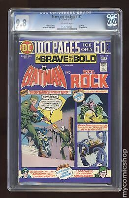 Brave and the Bold (1st Series DC) #117 1975 CGC 9.8 1136766005