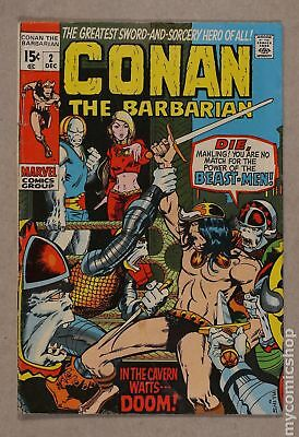 Conan the Barbarian (Marvel) #2 1970 VG- 3.5