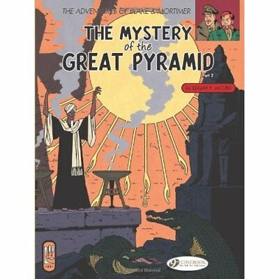 BLAKE & MORTIMER: THE MYSTERY OF THE GREAT PYRAMID PART - Paperback NEW Jacobs,