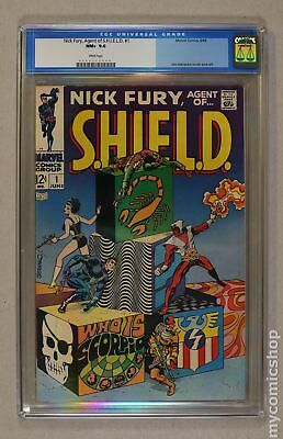Nick Fury Agent of SHIELD (1st Series) #1 1968 CGC 9.6 0008372004
