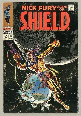 Nick Fury Agent of SHIELD (1st Series) #6 1968 FN 6.0