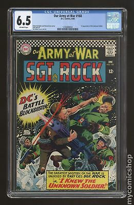 Our Army at War #168 1966 CGC 6.5 1230888002