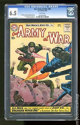 Our Army at War #98 1960 CGC 6.5 0978526004