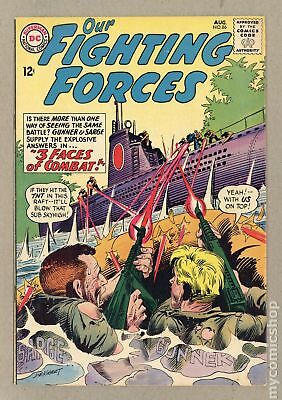 Our Fighting Forces #86 1964 VG+ 4.5