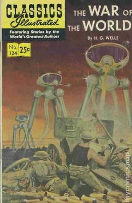 Classics Illustrated 124 The War of the Worlds #11 1970 FN Stock Image