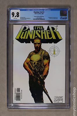 Punisher (5th Series) 1C 2000 2nd Printing CGC 9.8 1401356036