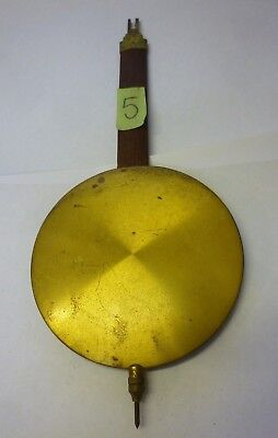 Original Art Deco Wall Clock Pendulum (5)