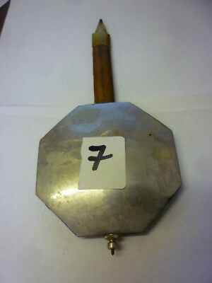 Original French Art Deco Wall Clock Pendulum (7)