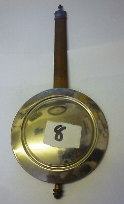 Original Art Deco Wall Clock Pendulum (8)