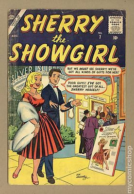 Sherry the Showgirl #7 1957 GD/VG 3.0