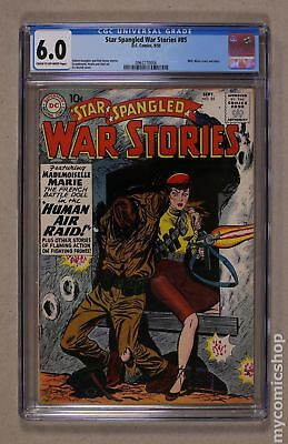 Star Spangled War Stories (DC) #3 to 204 #85 1959 CGC 6.0 0962770006