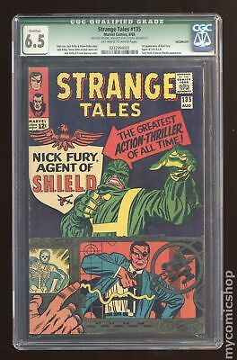 Strange Tales (1st Series) #135 1965 CGC 6.5 QUALIFIED 0232994001