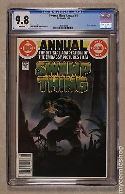 Swamp Thing (2nd Series) Annual #1 1982 CGC 9.8 1497136014