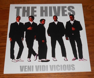 The Hives Veni Vidi Vicious Poster 2-Sided Flat Square 2002 Promo 12x12
