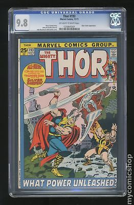 Thor (1st Series Journey Into Mystery) #193 1971 CGC 9.8 1258845001