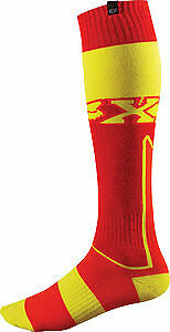 Fox Racing FRI Imperial 2015 MX/Offroad Thick Socks Red/Yellow