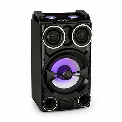 Fenton Boombox Ghettoblaster Party 300 W USB Bluetooth LED Beleuchtung Griffe