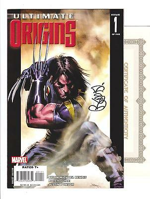 ULTIMATE ORIGINS 1 (VF/NM 9.0) SIGNED by BRIAN MICHAEL BENDIS  (SHIPS FREE) *