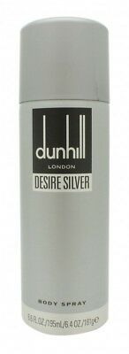 Dunhill Desire Silver Deodorant Spray - Men's For Him. New. Free Shipping