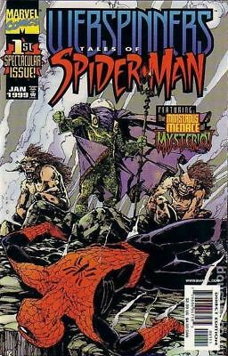 Webspinners Tales of Spider-Man 1A 1999 FN Stock Image