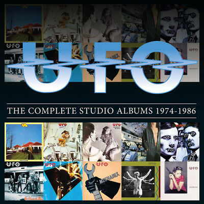UFO - The Complete Studio Albums 1974-1986 [New CD]