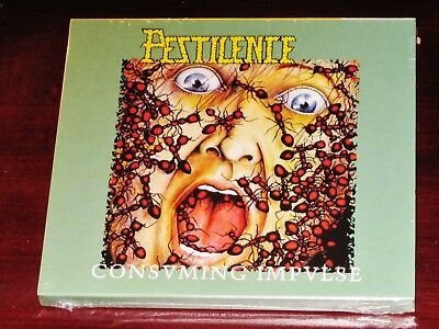 Pestilence: Consuming Impulse 2 CD Set 2017 Hammerheart Records HHR 2017-14 NEW