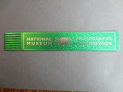 BOOKMARK LEATHER National Museum Photography Film & Television Bradford  Green