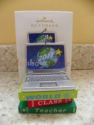 Hallmark 2011 World-Class Teacher School Christmas Ornament