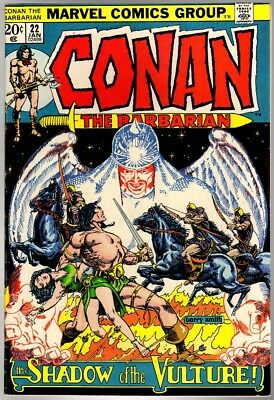 CONAN THE BARBARIAN 22 VG Jan. 1973
