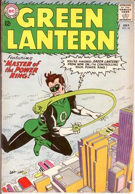 GREEN LANTERN (1960-1988) 22 GOOD July 1963