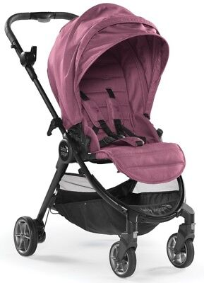 Baby Jogger City Tour Lux Lightweight Compact Travel Stroller Rosewood w Bag NEW