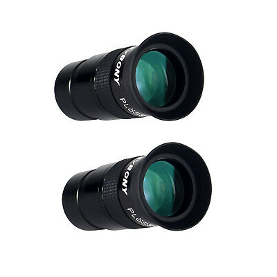 "2X1.25"" Plossl 40mm Eyepiece Fully Multi Green Coated For Astronomy Telescope AU"
