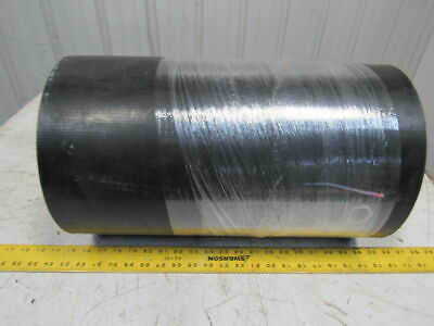 "2-Ply Black PVC Smooth Top Interwoven Fabric Conveyor Belt 47' x 19"" x .135"""