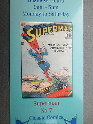BOOKMARK SUPERMAN Comic Number 7 Cover Wallace & Scott Books