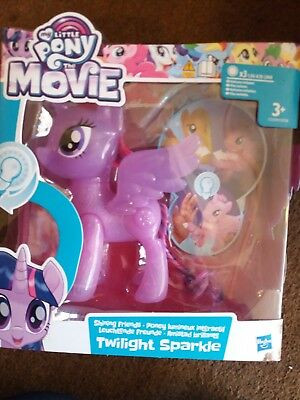 Official Hasbro My Little Pony The Movie,shining Friends,twilight Sparkle, New.