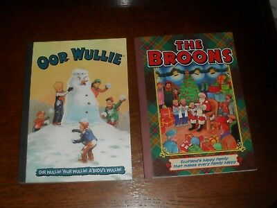 Old OOR WULLIE Annual & Old The BROONS Annual Scotland