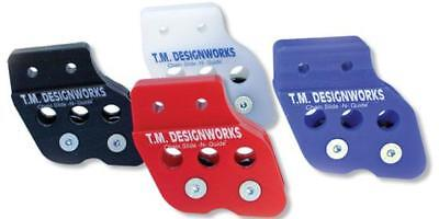 TM Designworks Rear Chain Guide Dual Rollers Warrior Red 99 00 01 02