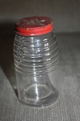Vintage McCormick Glass Shaker With A McCormick Lid