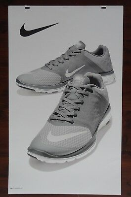 Nike Shoe Advertising Poster Large! 24 x 40 Thick Poster Board Signage