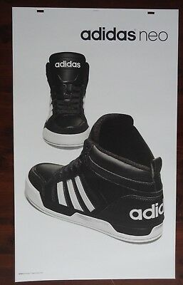 Adidas Poster Neo Advertising Large 24 x 40 Thick Posterboard Signage