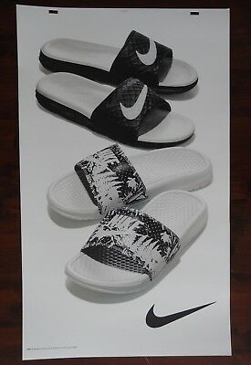 Nike Sandal Poster Advertising Large 24 x 40 Thick Posterboard Signage