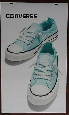 """Converse All Star Shoes Advertising Large! 24"""" x 40"""" Thick Poster Board Signage"""
