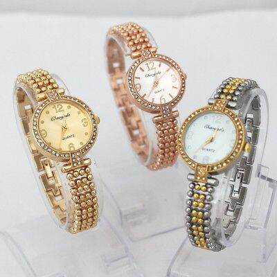 3pcs Mixed Bulk Fashion Women's Watch Quartz Dress Analog Wristwatch O107M3