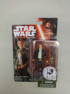 Star Wars: The Force Awakens - HAN SOLO New/Sealed-Light Package Wear