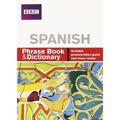 BBC Spanish Phrase Book and Dictionary (Phrasebook) - Paperback NEW Stanley, Car