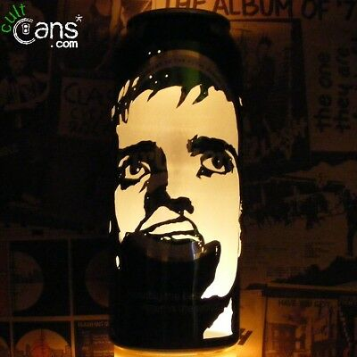 Ian Curtis Beer Can Lantern! Joy Division Pop Art Portrait Candle Lamp