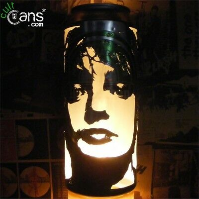 Pete Doherty Beer Can Lantern! Libertines, Babyshambles Pop Art Portrait Lamp