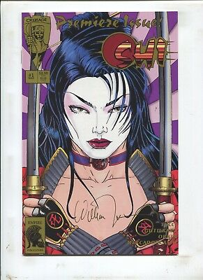 SHI #1 PREMIERE ISSUE! SIGNED BY WILLIAM TUCCI W/ COA! 1st PRINT! (9.2) 1994